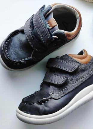 Кожаные демисезонные ботинки  артикул: 7853