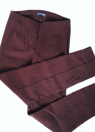 Класичні штани брюки бордового кольору