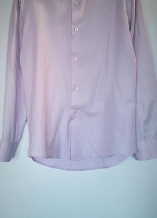 Класична сорочка лілового кольору merson