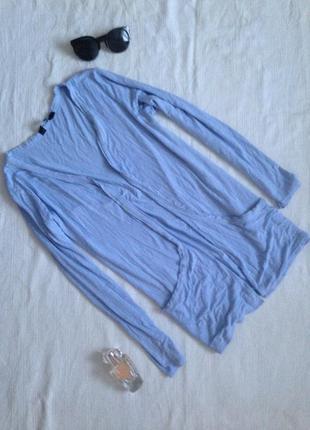 Кардиган піджак небесного ніжно голубого  кольору baby blu