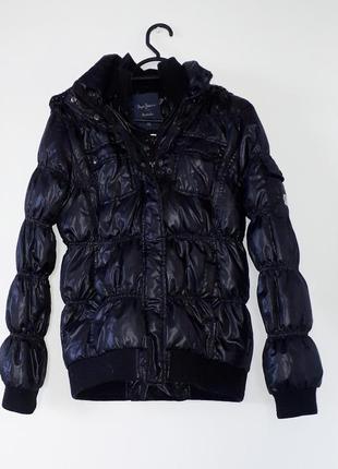 Базова куртка пуховик єврозима на дві змійки
