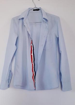 Сорочка ніжно блакитного кольору