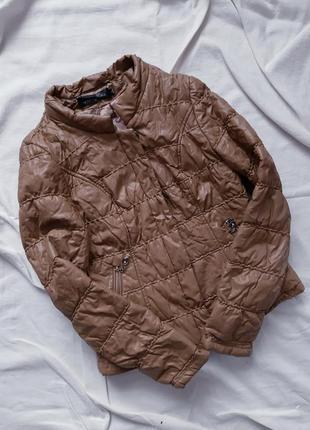 Балонова шкіряна куртка