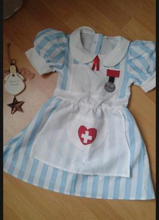 Платье медсестры 3-5 лет