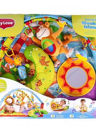 Игровой коврик Tiny Love «Мартышкин остров»
