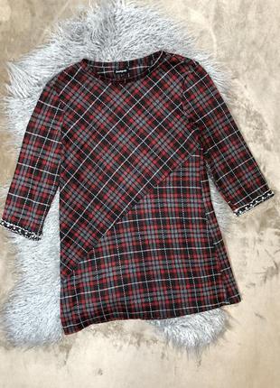 Женская трендовая красивая кофточка блуза футболка туника в...