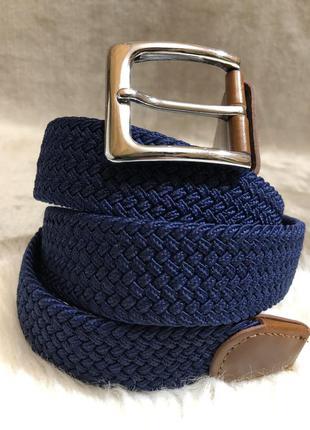 Шикарный плетеный ремень резинка пояс
