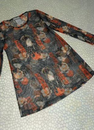 Платье-туника 4-5 лет