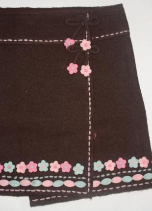 Дизайнерская юбка ф.john rocha для девочки от 5до 7лет в отлич...