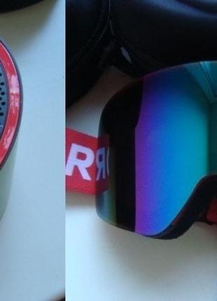 Сноубордическая лыжная маска горнолыжная сноуборд очки лыжные ...