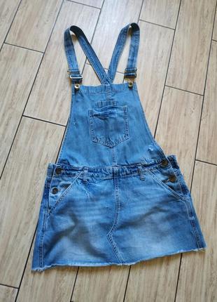 Стильный джинсовый комбинезон джинсовая юбка