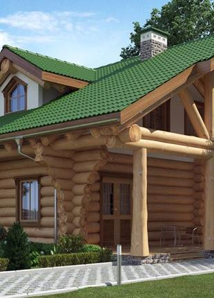 Деревянные рубленые дома и бани