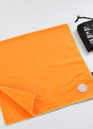 Спортивное полотенце из безворсвойо микрофибры CoolTime, Оригинал