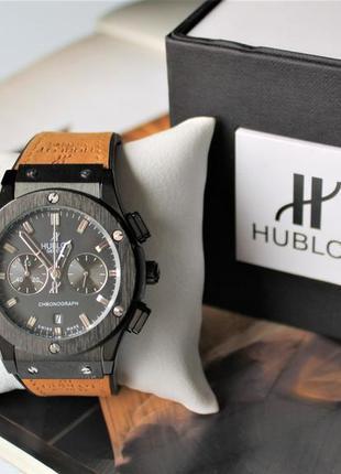 Наручные часы hublot big bang beige&black