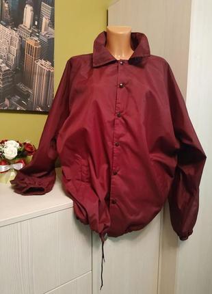 Куртка -ветровка большого размера 56-58