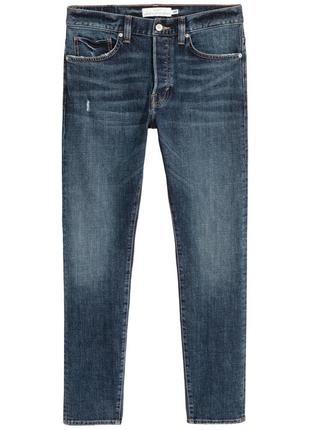 Синие джинсы h&m , slim jeans !