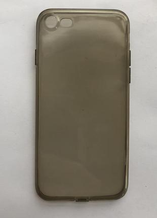 Силиконовый чехол iphone 7 case  !