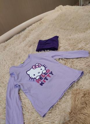 Пижама на девочку hello kitty