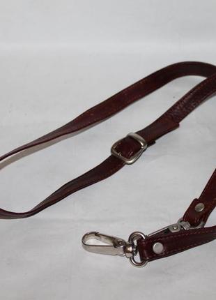 Кожаный плечевой ремень на сумку/портфель 100% натуральная кожа