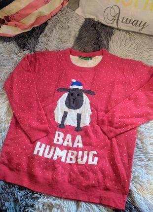 Светр свитер кофта рождество
