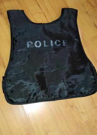 Детский бронежилет, карнавальный костюм полиция