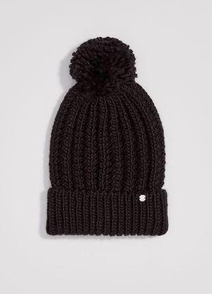 Базовая шапочка шапка есть цвета чёрная серая розовая (пудровая)