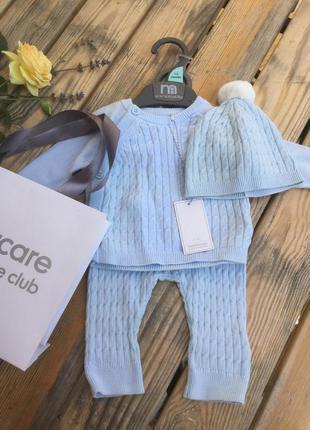 Костюм с шапочкой на новорожденного mothercare