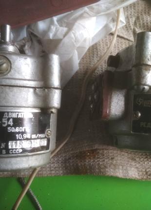 Электродвигатель СД-54 синхронный конденсаторный с встроенным ред