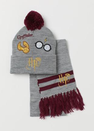 Комплект h&m: шапка+шарф