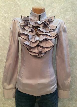 Блузка с рюшами glem