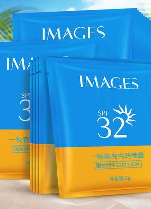 Солнцезащитный разовый крем images spf32