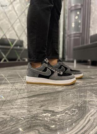 Мужские кроссовки nike air force low luxury suede