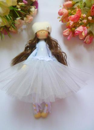 Кукла ручной работы. кукла балерина.