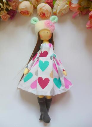 Кукла ручной работы. кукла в подарок. высота 25 см