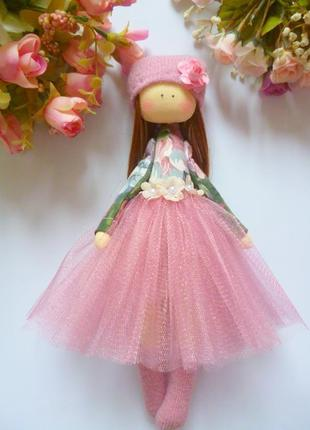 Красивая кукла ручной работы. кукла балерина.