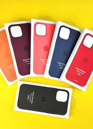 Чехол MagSafe Silicone Case для Apple iPhone 12 PRO max Код: 6271
