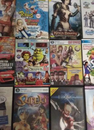 Коллекция игр DVD PC Лицензионные новые в упаковках