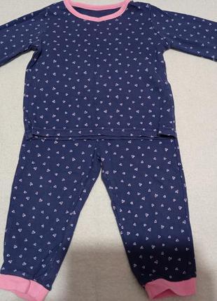Отличная мягкая натуральная хлопок 💯 пижама для девочки
