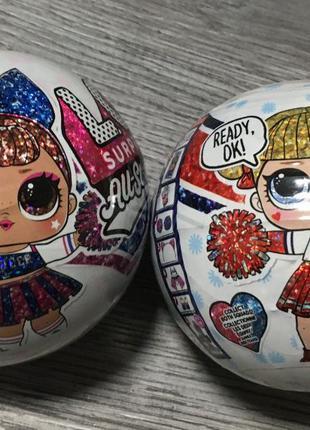 Оригинал Шар LOL Кукла Лол Чарлидеры 2-я серия All Star BBs Cheer