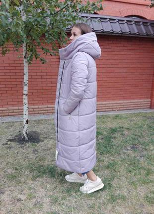Зимнее пальто, пуховик , длинная куртка