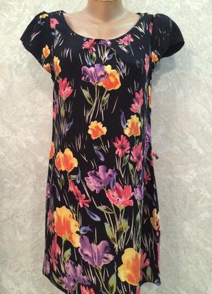 Платье в цветы  dorothy perkins