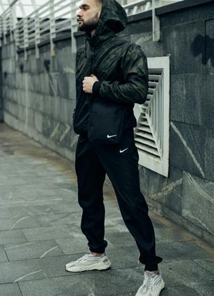Комплект Nike ветроква + Штаны President +Барсетка в подарок