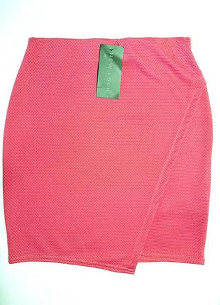 Розовая юбка карандаш new look