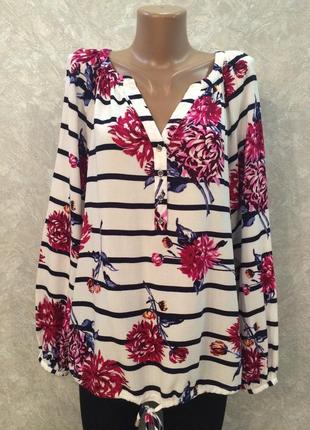 Блузка в цветы george