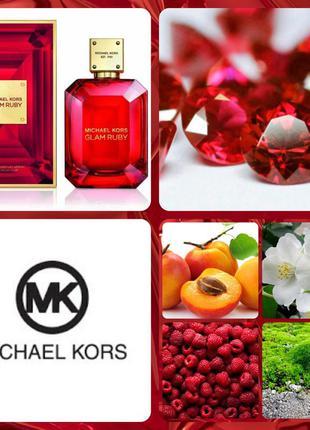 🍁sale🍁michael kors glam ruby 100ml парфюмированная вода оригин...