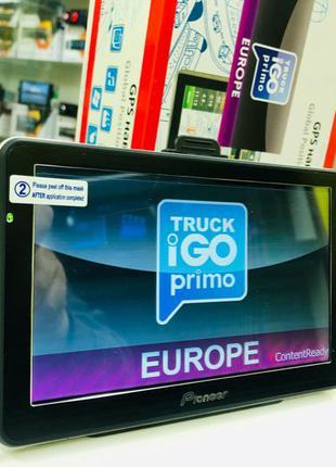 Навигатор GPS Pioneer Европа  для грузовых карты