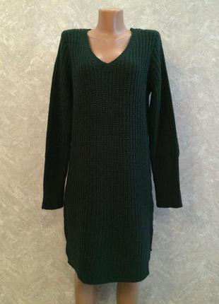 Платье туника крупной вязки vila