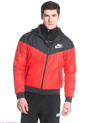 Куртка ветровка nike windrunner с водоотталкивающим покрытием ...