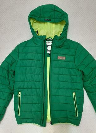 Крутая теплая зимняя куртка tumble'n dry с утеплителем на флисе