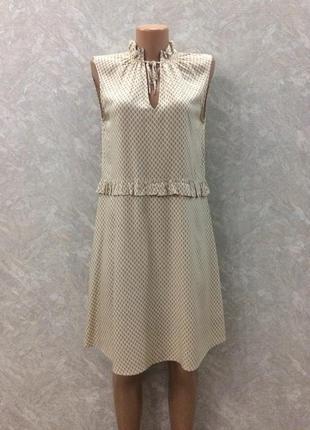 Платье с рюшами h&m